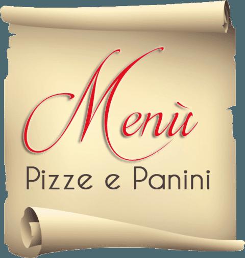 menù pizze e panini