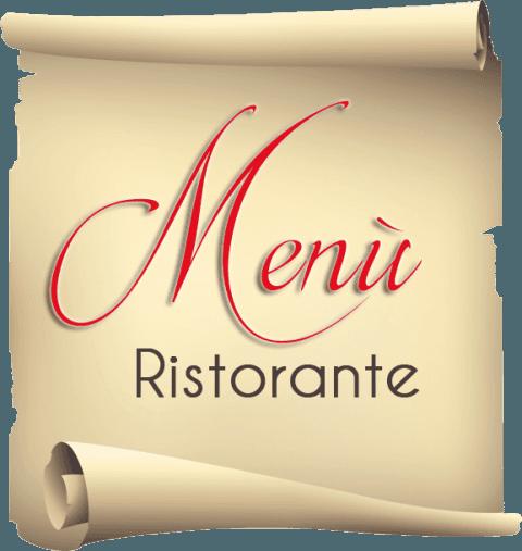 menù ristorante