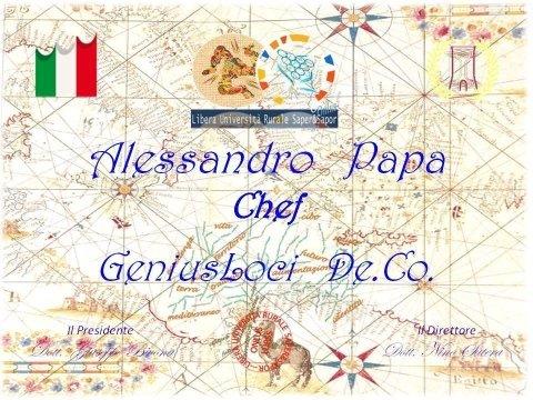 Chef Alessandro Papa