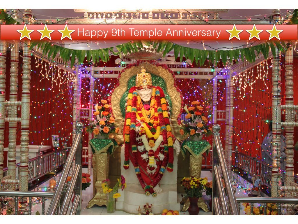 Temple anniversary