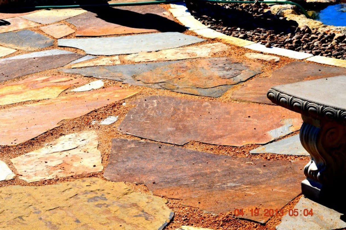 flagstone landscaping contractor in Seguin, TX