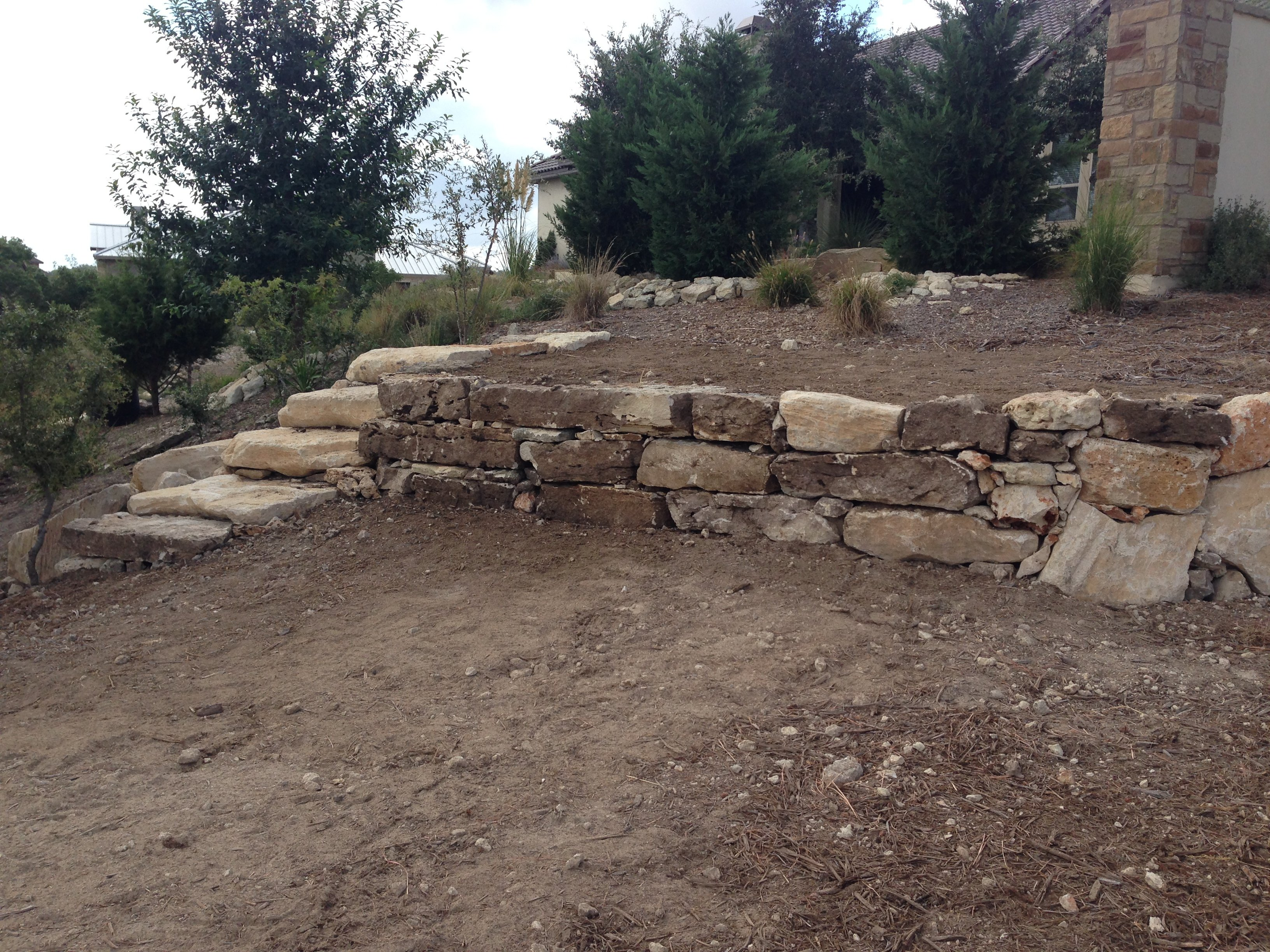 stone landscaping contracting in Seguin, TX