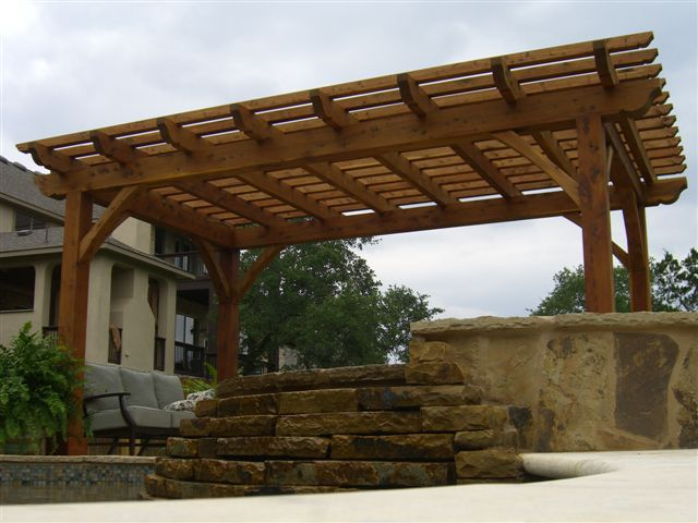 flagstone landscaping contractor in San Antonio, TX
