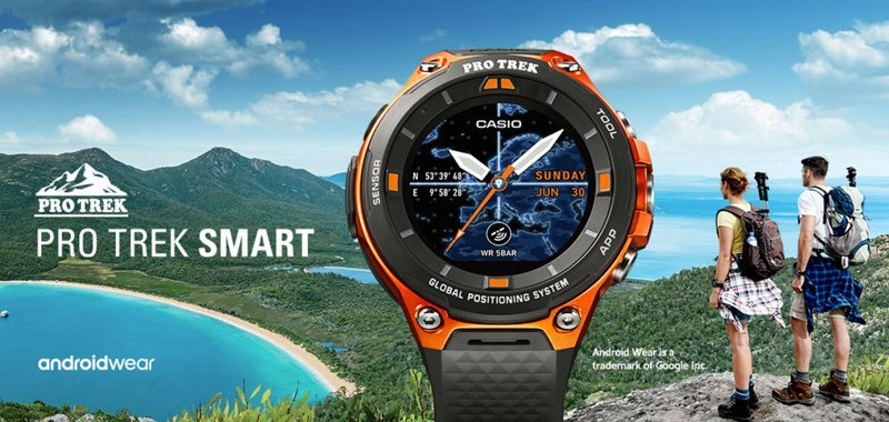orologio Casio modello Pro Trek Smart