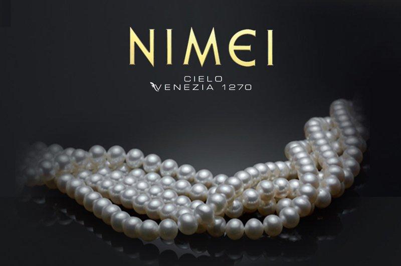 collana di perle Nimei