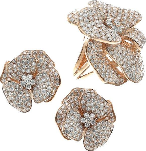 anelli a forma di orchidea