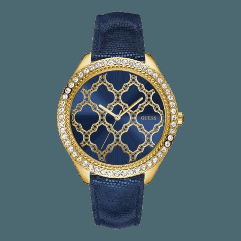 Orologio Guess blu e dorato