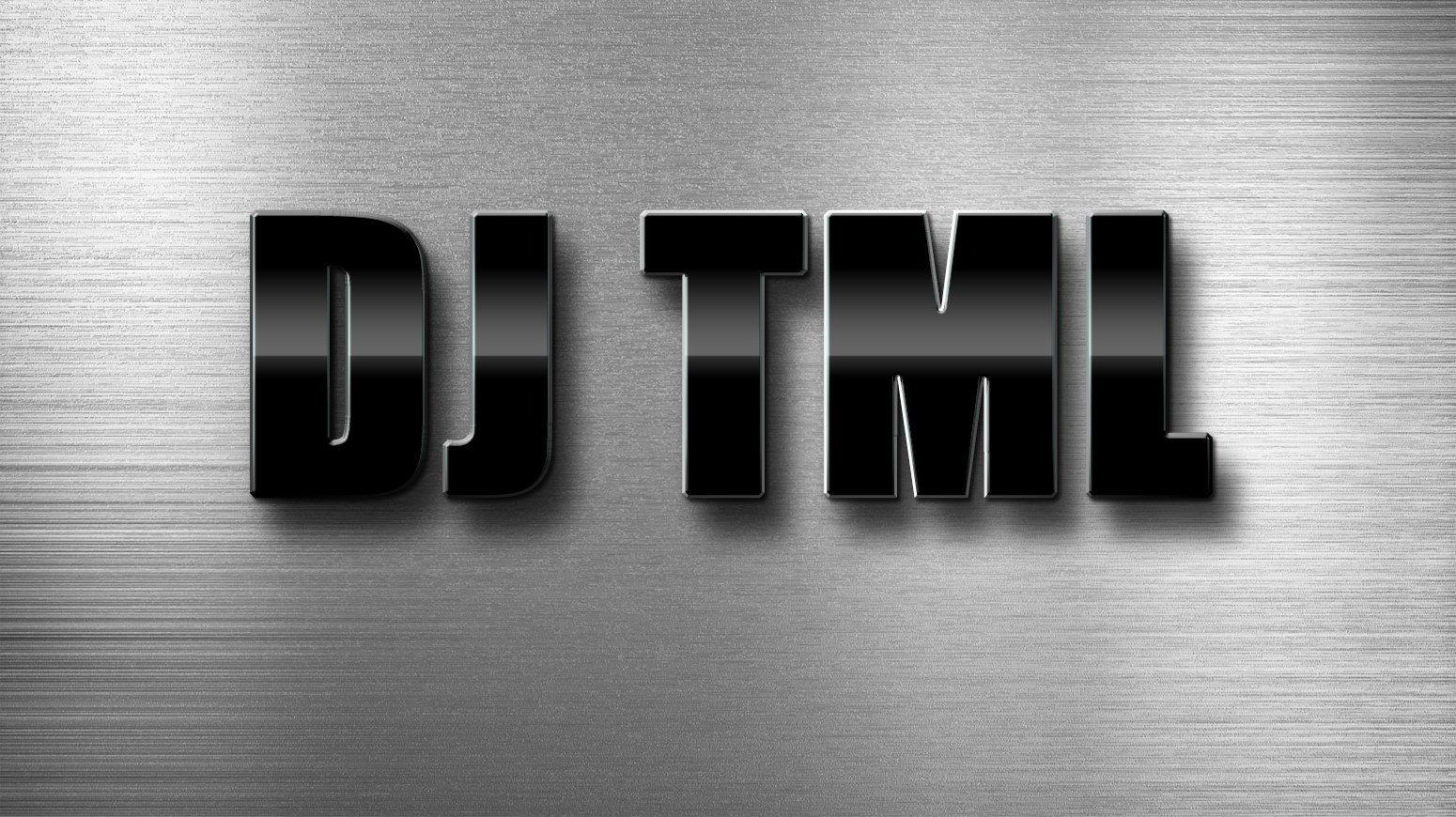 DJ TML. logo