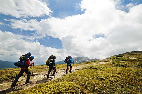 Hiking in high Garda Lake