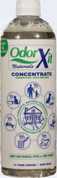 Odor eliminator concentrate