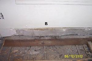 fix smell in subfloor