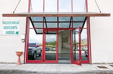 Maglificio Marilina - shop entrance