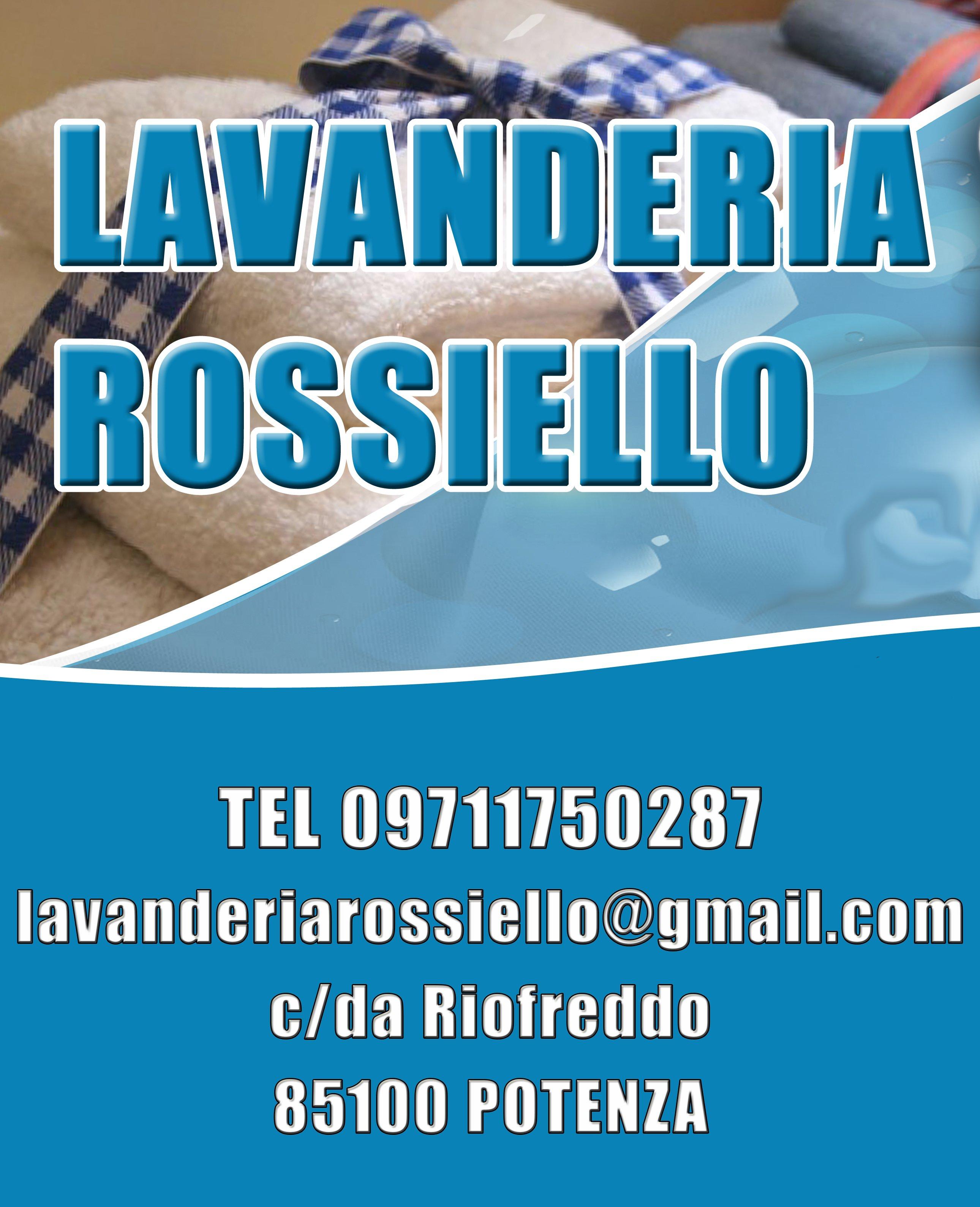LAVANDERIA ROSSIELLO - LOGO