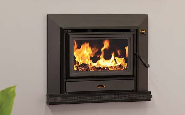 coonara built in fire place