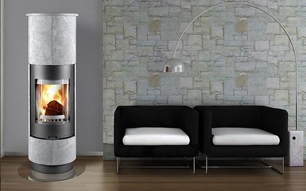 euro fireplace and lounge