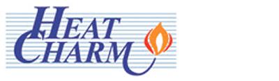 heatcharm wood heating logo