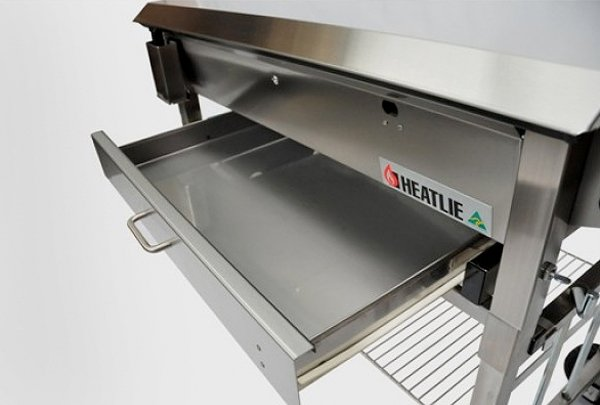 heatlie bbq pull out tray