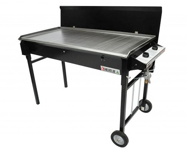 heatlie bbq with trolley