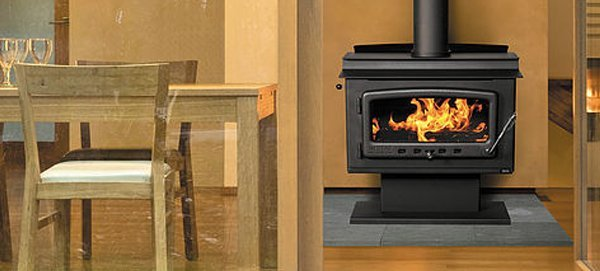 nectre mk1 wood fireplace