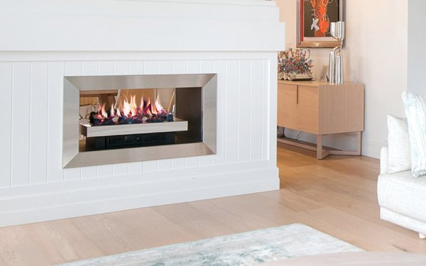 realflame built in fireplace