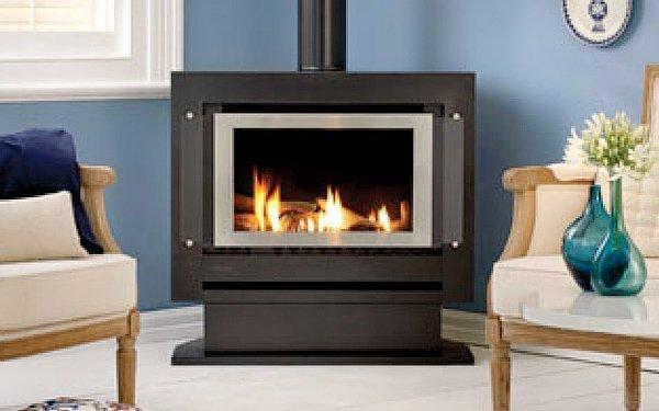 rinnai sapphire freestanding gas log fire