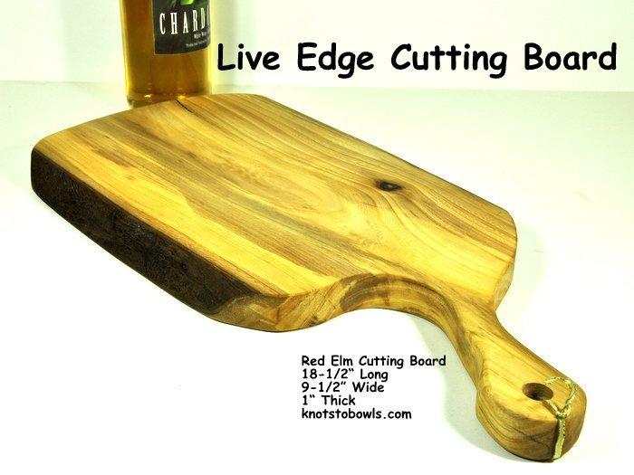Elm Live edge charcuterie board