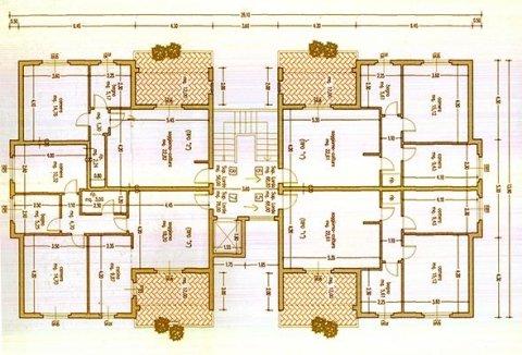 Planimetria Appartamenti zona Cassarello