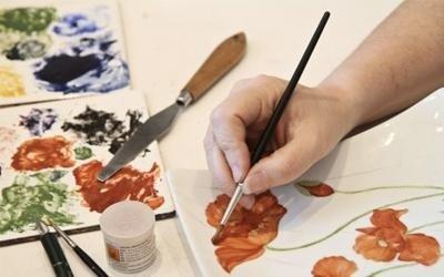 Decorazioni su ceramica