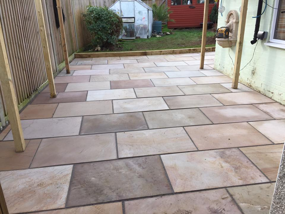 attractive paving