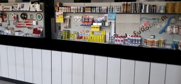 banco vendita prodotti per termoidraulica