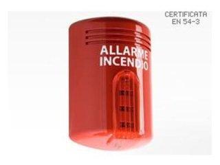Sensori termovelocimetrici antincendio