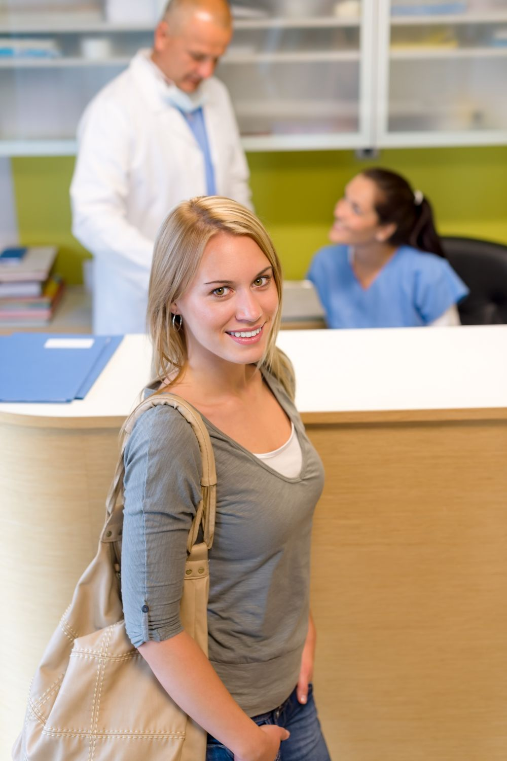 Patient visits for affordable dental work in High Point, NC