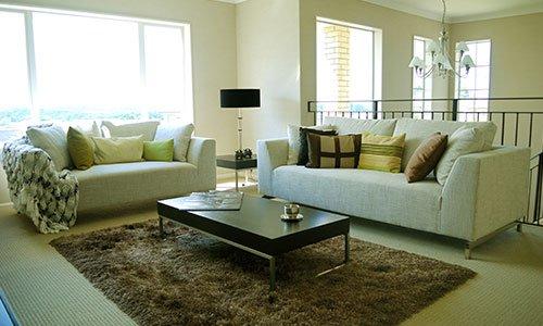 elegante salotto con mobili eleganti