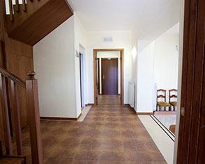 gli interni di Villa Rossella