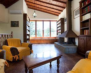 Gli interni della Villa