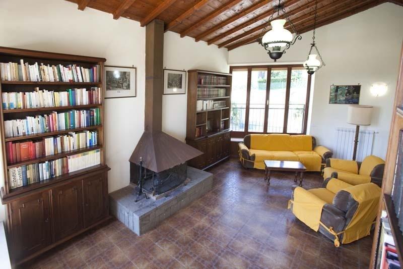 interni di Villa Rossella