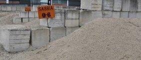 Deposito sabbia