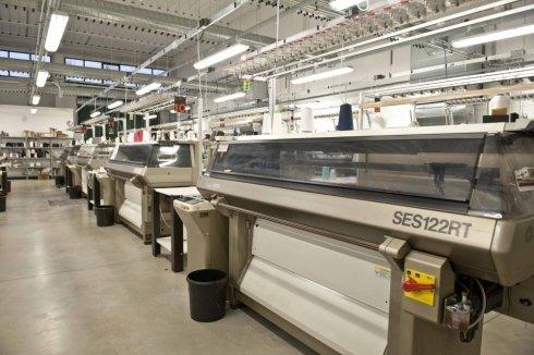macchinari per produzione maglieria