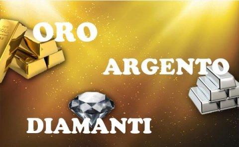 Oro - Argento - Diamanti