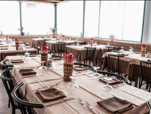 Presso il ristorante Grillo Verde si organizzano banchetti di ogni tipo.