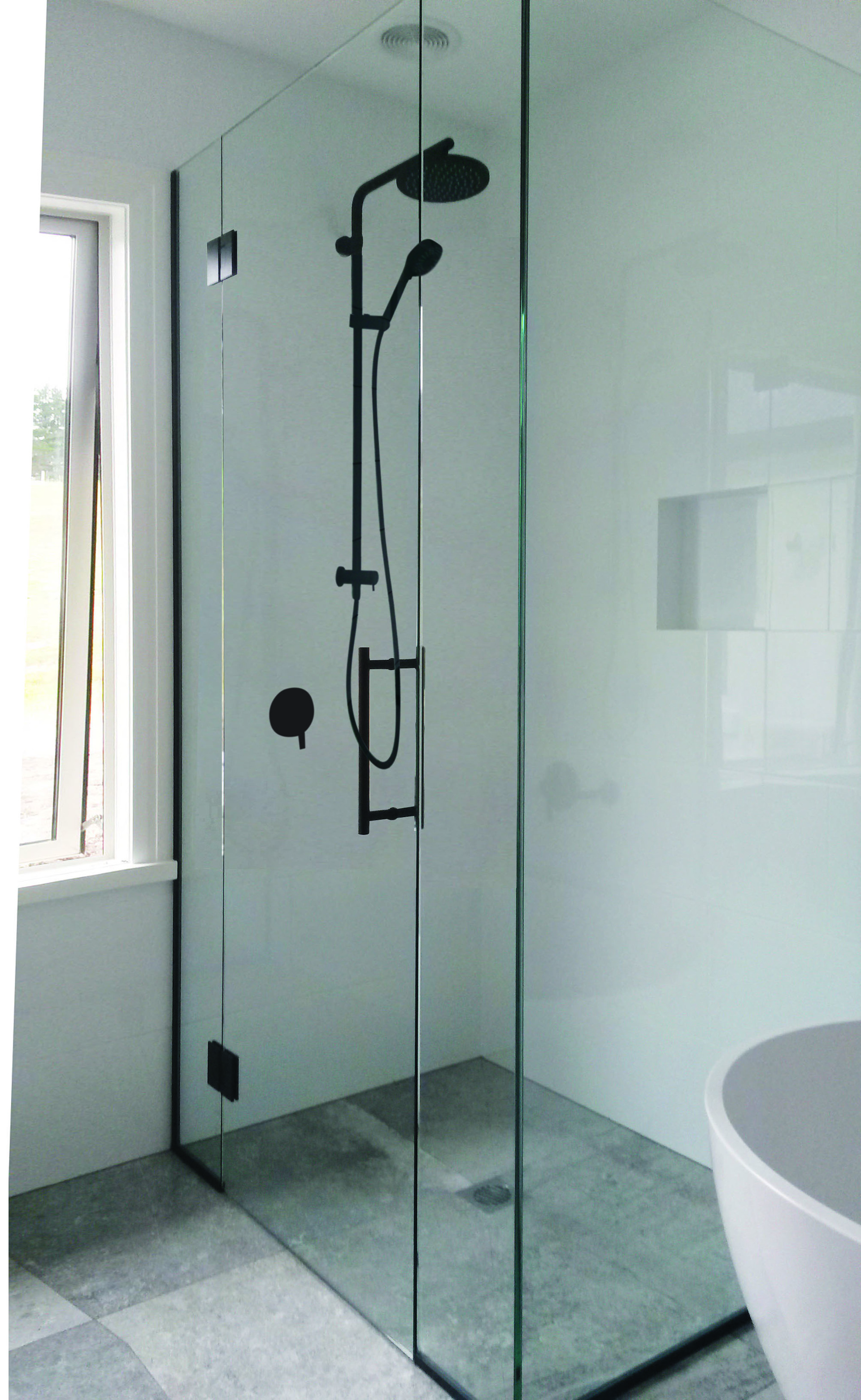 Glass Showers Amp Bathroom Doors Tauranga Glass