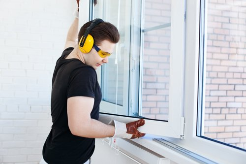 Glass repair service