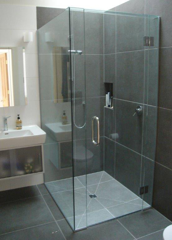 View of shower cubical