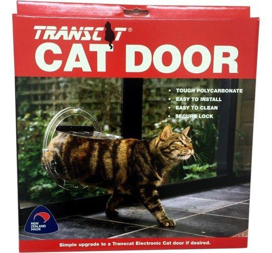 View of cat door