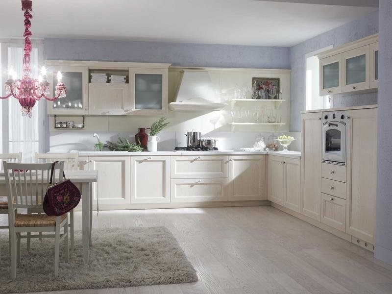 cucina colori chiari