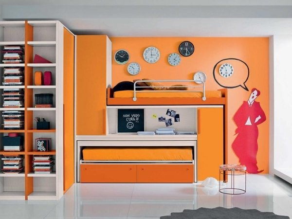 camera decorata
