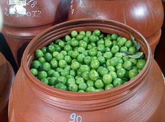 Preparazione delle olive