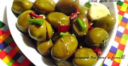 antipasto alle olive verdi