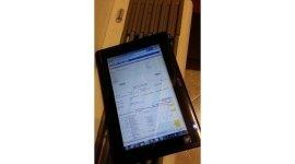 tablet per comunicazione manutentori