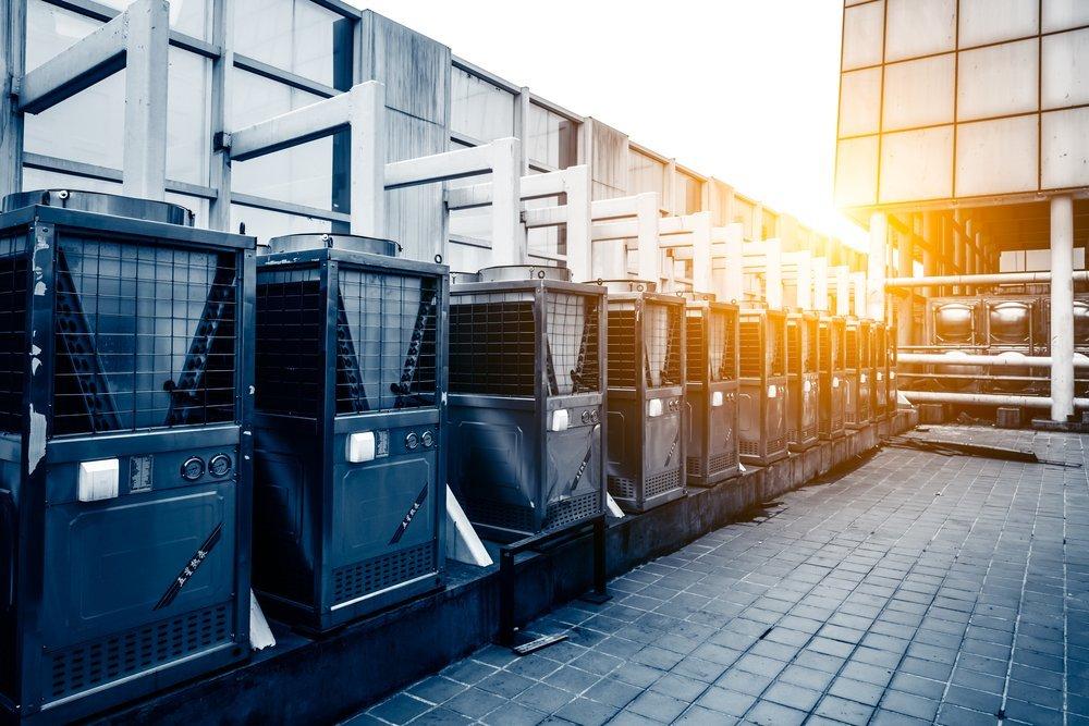 unità esterne impianti per climatizzazione e condizionamento